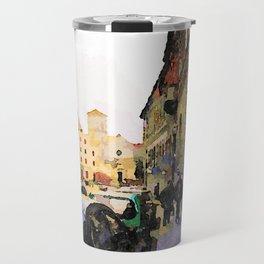 Catanzaro: course with cathedral Travel Mug