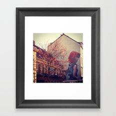 Street art Framed Art Print