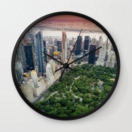 Central Park, New York City Wall Clock