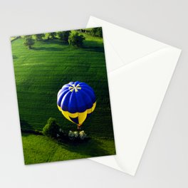 Balloon Above The Shires Stationery Cards
