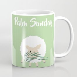 Palm Sunday Lamb Of God Coffee Mug