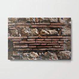 Ancient Mix-media Wall Metal Print