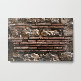 Ancient Mix-media Wall Metal Print