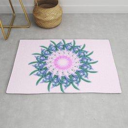 Mandala #108, Harmony in Pink Rug