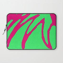 Green Pink Pattern Laptop Sleeve