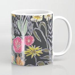 Summer Garden at Midnight Coffee Mug
