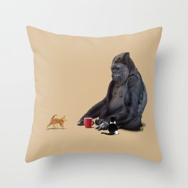 I Should, Koko (Colour) Throw Pillow