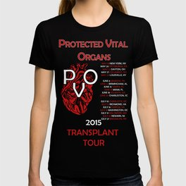 Protected Vital Organs Alternate Color Scheme T-shirt