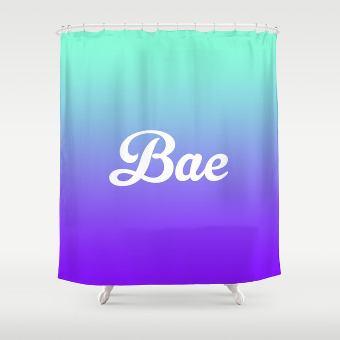 purple and turquoise shower curtain. Bae Turquoise Purple Fade Print Shower Curtain By Rexlambo  Society6