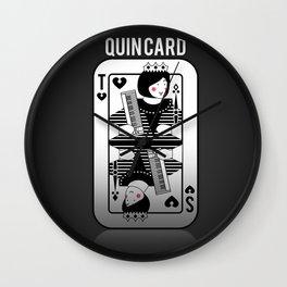Tegan and Sara Quincard Wall Clock