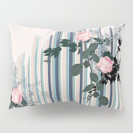Uneven stripe Pillow Sham