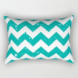 Pattern Texture Aqua Rectangular Pillow
