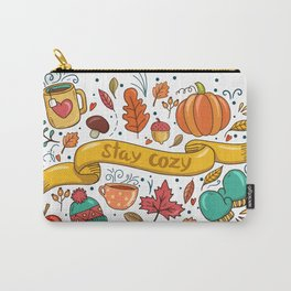 Stay Cozy in Autumn Carry-All Pouch
