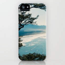 View of the Oregon Coast from Highway 101 - Film Photograph iPhone Case