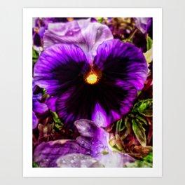 Tunnel Flower Art Print