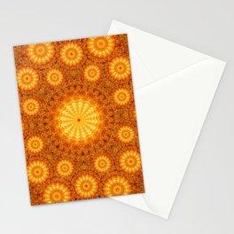 Sun Orb Mandala Stationery Cards