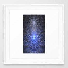 Mind's Eye Erupts Framed Art Print