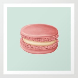 French Macaroon Art Print