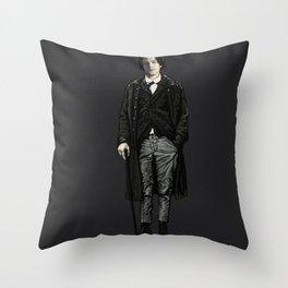 ARTHUR RIMBAUD-LEONARDO DICAPRIO  Throw Pillow