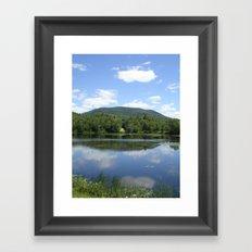Tupper Lake Framed Art Print