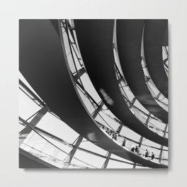 Bundestag [II] Metal Print