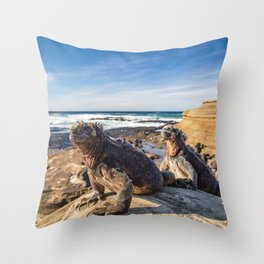 Galapagos Throw Pillow
