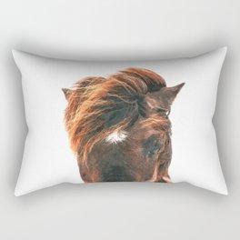Horse Head Rectangular Pillow