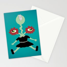 Flower Eyes Stationery Cards