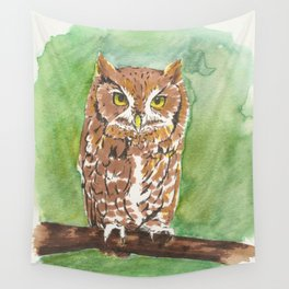 Little Owl Wall Tapestry