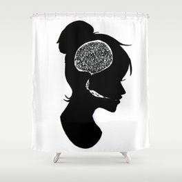Introverted Shower Curtain