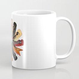 Guitar Spiral Coffee Mug