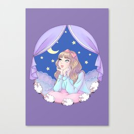 Night Dreamer Canvas Print