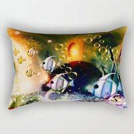 Aquaworld Rectangular Pillow
