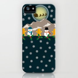 My Childhood's Christmas iPhone Case