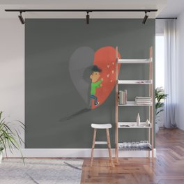 Boy in Love #4 Wall Mural