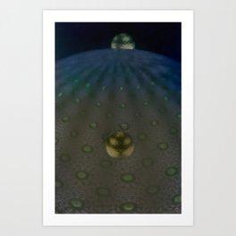 Unfitting Frame Orbitals 3a Art Print