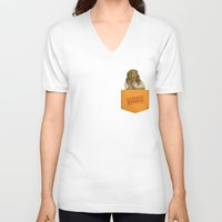 oitnb V-neck T-shirts featuring Sophia OITNB by StephDere