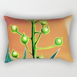 Wild plant at sunset Rectangular Pillow