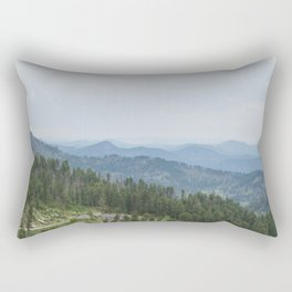 Black Hills Rectangular Pillow