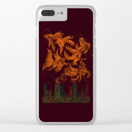 Big City Dreams Clear iPhone Case
