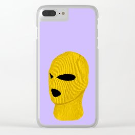 Yellow Creep Clear iPhone Case