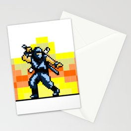 Ninja 8bit Stationery Cards