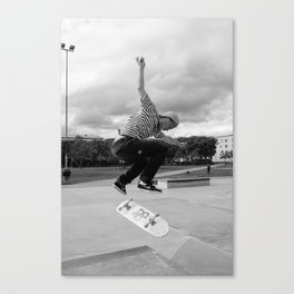 Skating 02 Canvas Print
