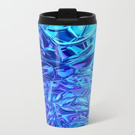 Abstract Crystals Travel Mug