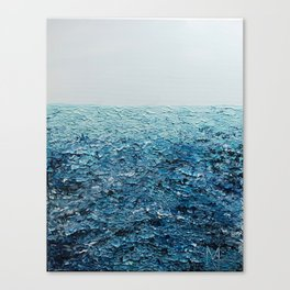 Saline Waters Canvas Print