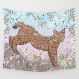 Little Bobcat Wall Tapestry