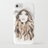 downton abbey iPhone & iPod Cases featuring Abbey by Esther Kang