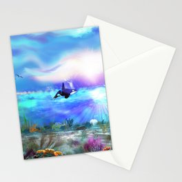 Sea of Tranquility Stationery Cards