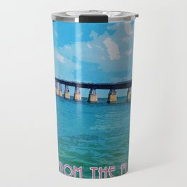Greetings From The Forida Keys Travel Mug