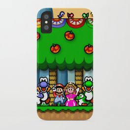 Super Mario World Happy Ending iPhone Case